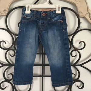Zara Baby | Distressed Blue Jeans